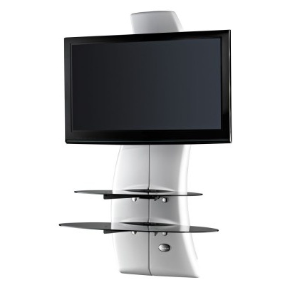 Panel pod telewizor Meliconi Ghost Design 2000 z rotacją biały