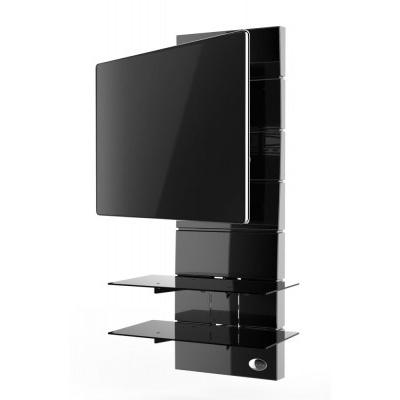 Panel pod telewizor Meliconi Ghost Design 3000 z rotacją czarny