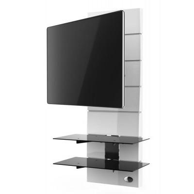 Panel pod telewizor Meliconi Ghost Design 3000 z rotacją biały