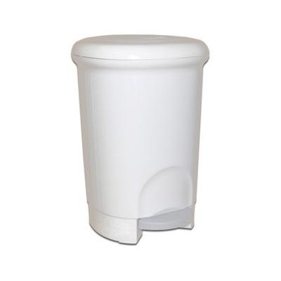 Kosz na śmieci Meliconi Plastic Round 14 L biały