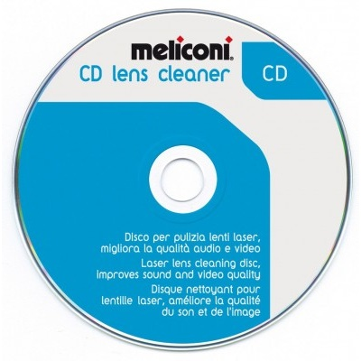 Płyta czyszcząca do napędów CD Meliconi