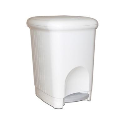 Kosz na śmieci Meliconi SQUARE PLASTIC 16 L biały