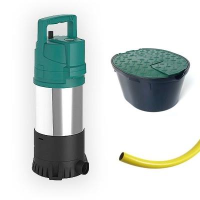 Zestaw GARDEN, pompa i akcesoria do zbiorników FLAT i NEPTUN