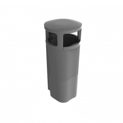Kosz zewnętrzny na odpady ATRIUM 50 l