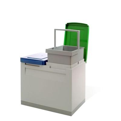 Kosz na segregowane odpady EKOMODUL 2x15 l