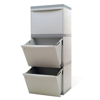 Kosz na segregowane odpady EKOMODUL 3x30 l