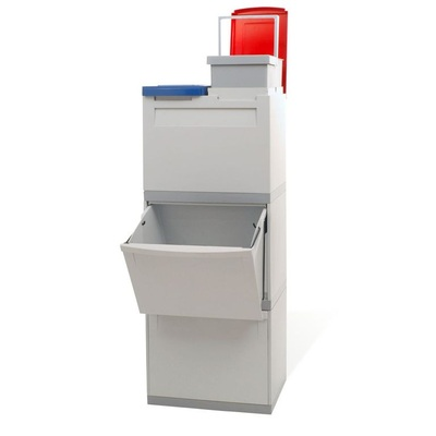 Kosz na segregowane odpady EKOMODUL 2x30 l + 2x15 l