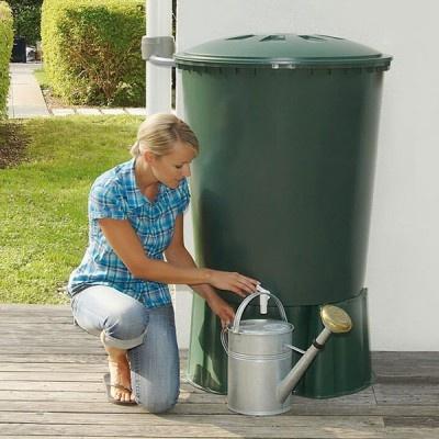 Plastikowy zbiornik na wodę deszczową ROLL 210-310-510 l