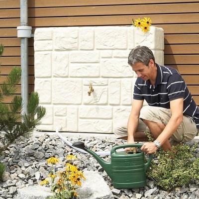Zbiornik ozdobny ogrodowy na deszczówkę TESSIN 300 l
