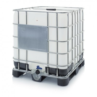 Pojemnik, mauzer IBC z paletą plastikową NW 150/50 (OSN UN 31HA1 /Y)