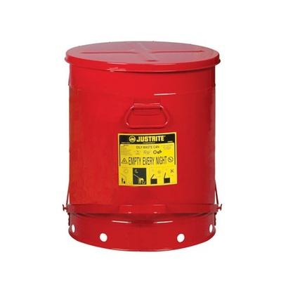 Pojemnik metalowy na niebezpieczne odpady 80 l
