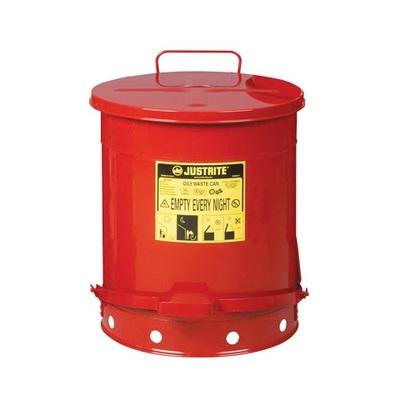 Pojemnik metalowy na niebezpieczne odpady 52 l