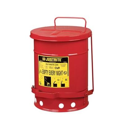 Pojemnik metalowy na niebezpieczne odpady 20 l