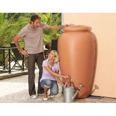 Plastikowy zbiornik na wodę deszczową LOIRE 350 l