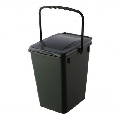 Pojemnik na odpady kuchenne Biolyne 10 l, brązowy