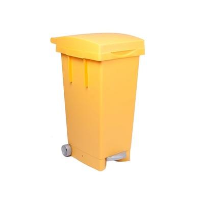 Kosz na śmieci z pedałem do segregacji odpadów BIGTATA 80 l