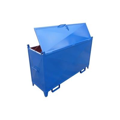Metalowy kontener na świetlówki 1600x800x500
