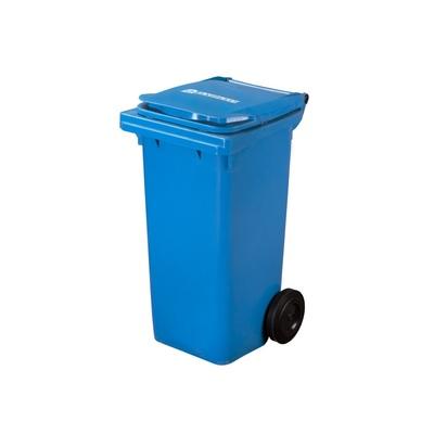 Plastikowy pojemnik na odpady ELKOPLAST 120 l, niebieski C