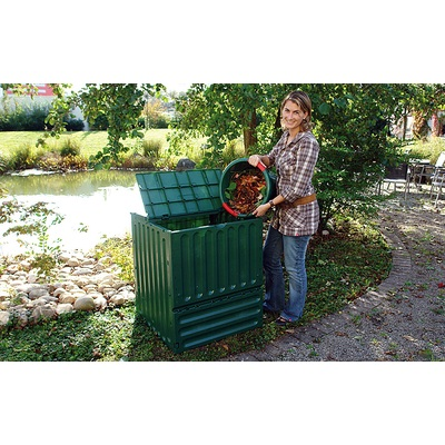 Kompostownik ECOKING 600 l, zielony
