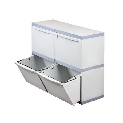 Kosz na segregowane odpady EKOMODUL 4x30 l