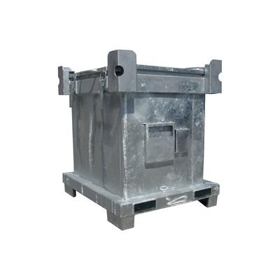Kontener metalowy na niebezpieczne odpady stałe ASP 800