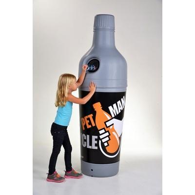 Kosz na śmieci 210 l na butelki PET