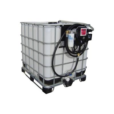 Zbiornik na olej napędowy IBC kontener, FDI 1000 12-24-230 V