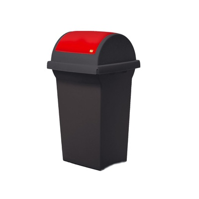 Kosz na śmieci do segregacji odpadów SWING 50 l