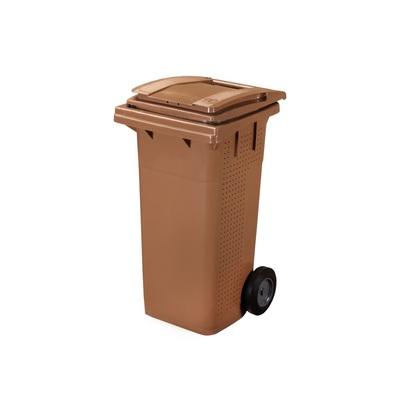 Plastikowy pojemnik na BIOodpad ELKOPLAST 120 l