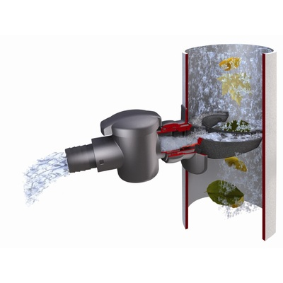 Zbieracz do wody deszczowej z filtrem do szybkiego montażu