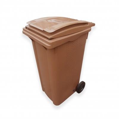 Plastikowy pojemnik na BIOodpad ELKOPLAST 240 l