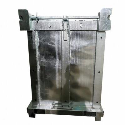 Kontener metalowy IBC na niebezpieczne odpady stałe ASP 1500