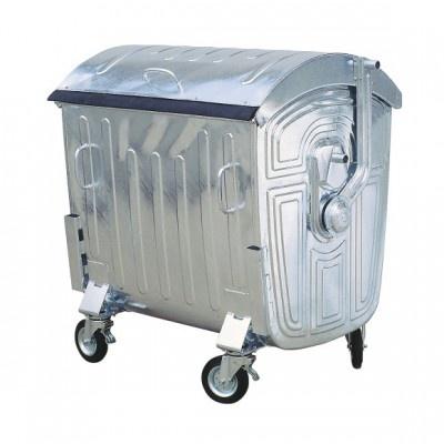 Metalowy ocynkowany kontener 1100 l
