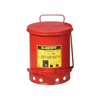 Pojemnik metalowy na niebezpieczne odpady 34 l