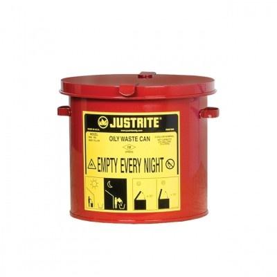 Pojemnik metalowy na niebezpieczne odpady 8l