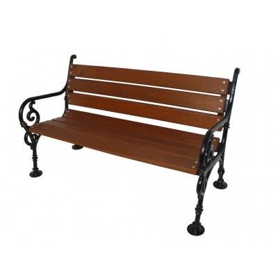 Żeliwna ławka Schonbrunn