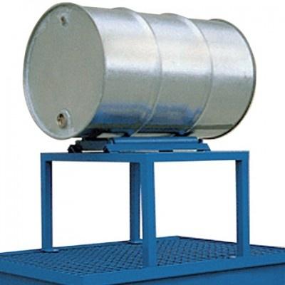 Metalowy stojak pod 1 beczkę